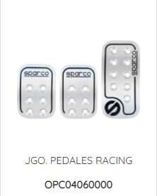 pedales racing sparco
